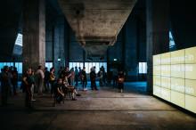 Veranstaltungsprogramm zu Tony Cokes Installation Mixing Plant auf Zeche Zollverein