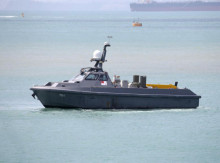 Mighty tech: SAF innovates with unmanned ships, drones and watch towers
