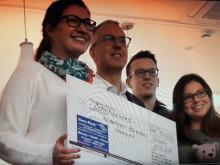Gröditzer Familienunternehmen spendet für Kinderhospiz