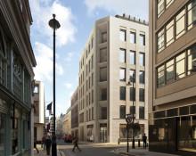 Skanska bygger kommersiell fastighet i London, Storbritannien, för GBP 32M, cirka 370 miljoner kronor