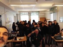 Presenterar vårt Integrationsprojekt  One2One för elever på Rönnowska skolan i Helsingborg