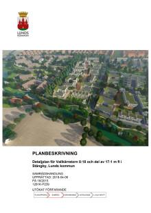 Planbeskrivning för Stångby söder