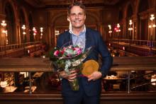 Ola Serneke, grundare av Serneke, mottog igår utmärkelsen Årets Grundare Sverige 2018