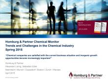 Chemie Monitor 2015: Homburg & Partner-Studie zu Trends und Herausforderungen in der Chemieindustrie