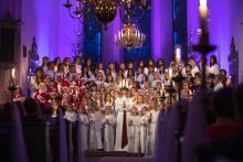 Gränna Lucia sprider ljus till hela Sverige