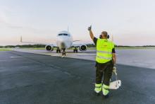 Stabil passagerarökning för Norrköping Airport i oktober
