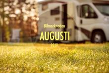 Bilmarknaden augusti 2019