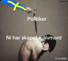 Julklappen till regeringen och Migrationsverket: Ett självmord - eller flera?