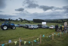 EE presents the UK's first 4x4G drive-in movie experience in North Wales
