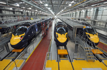 Hitachi's Ashford Depot Two Successful Years On