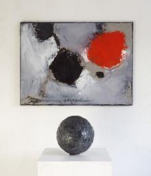 Pressvisning av utställningen Anja Notini – Rum med gravitation