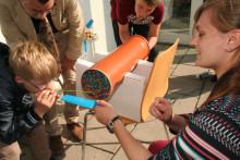 """Jugendliche forschen zum Wind / 6. Vernetzungstreffen """"Schule mit Energie"""" am 6. Oktober 2014"""