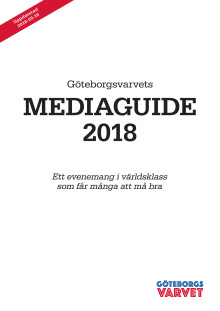 Mediaguide, Göteborgsvarvet 2018