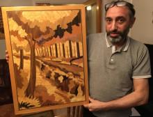 Lindesbergskonstnären Oubaida Mualem ställer ut på Liljevalchs vårsalong