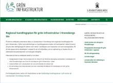 Ny webbplats om grön infrastruktur för effektivare planering