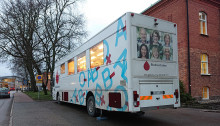 Lyckad blodgivning i Tiohundra - nu blir Norrtälje sjukhus ett ordinarie stopp