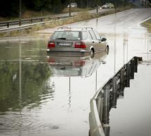 """""""Nu har vi bättre kapacitet att klara skyfallen"""" – S:t Eriks fördröjningsmagasin hjälper Umeå att undvika översvämningar"""