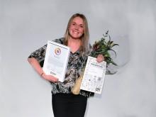 Vinnare av Årets Vikarie 2016 – Sofia Selenius 27 år från Johanneshov, Stockholm