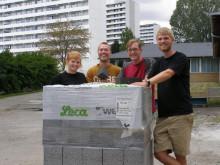 Leca® blokke indgår i bachelorprojekt på Ingeniørhøjskolen Aarhus Universitet