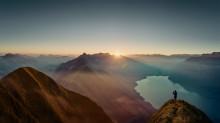 Gipfelwanderungen in der Schweiz