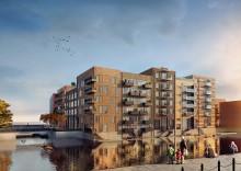 Vill du bo med egen brygga vid hamnbassängen?  Våningen & Villan tar nu över försäljningen av Ophelias Brygga, en urban arkipelag i Oceanhamnen, Helsingborg.