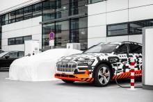 Audi e-tron Charging Service er mobilitet uden grænser