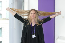 BT's Abbie makes the cut for charity