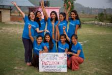 Så bryter flickor i Nepal menstabun genom fotografi