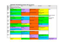 Program för kulturutbudsdagen 20 oktober 2011
