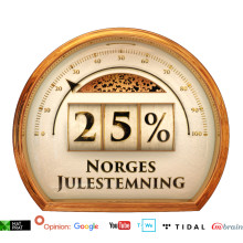 I dag åpner Norsk Juleindeks
