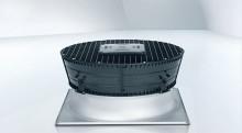 Diffusorn AxiTop ökar verkningsgraden och minskar ljudet i kylanläggningen