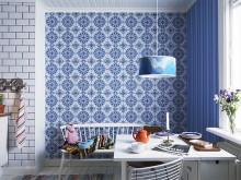 Tapeter med marockanskt mönster