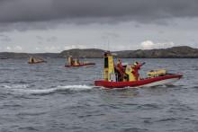 Pressträff: Frivilliga sjöräddare i Strängnäs letar donatorer till ny båt