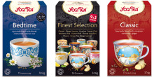 YOGI TEA växer i dagligvaruhandeln