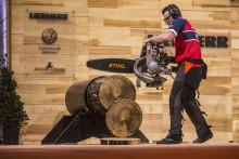 Rekord-VM for norske tømmermenn