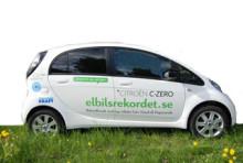Chargestorm förser elbil på turné i Sverige med laddmöjligheter