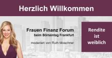 Frauen Finanz Forum beim Börsentag Frankfurt