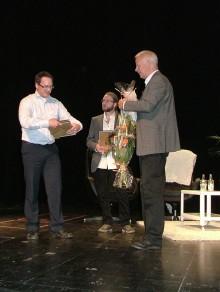 SKAPA-stipendium till UIC-bolaget VBN Components och UIC-entreprenören Niklas Salomonsson