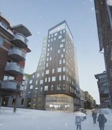 I Norra Sveriges nya landmärke sitter fönster från SSC