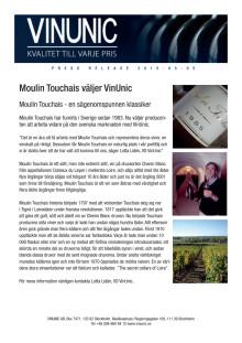Moulin Touchais - en sägenomspunnen klassiker