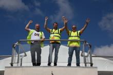 Magnus Rundberg nådde längst av svenskarna i Caterpillar Operator Challenge