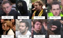 New images released in fresh appeal for information on Whitehall disorder