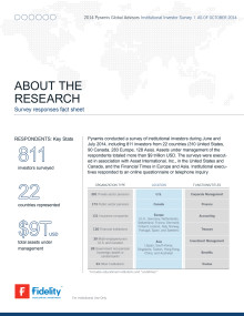 Survey Responses Factsheet