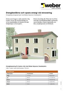 Energiberäkna och spara energi vid renovering