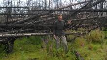 Ökande risker för skogsbränder på dikad torvmark