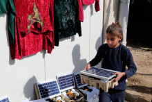 Displaced families say 'We'll pay for power'