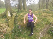 Shipley woman tackles a 5km run a day to Make May Purple for Stroke