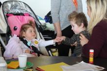 ellenor children enjoy some egg-citing activities