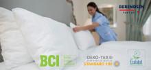 Berendsen miljømærker metervare på sengetøj – og gør danske hoteller mere bæredygtige