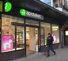 Apoteket öppnar nytt apotek på Hornsgatan i Stockholm.